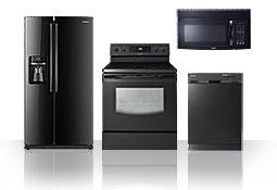 kitchen appliances: 4 Piece Kitchen Appliance Package