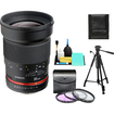 Rokinon - Bundle 35mm f/1.4 Aspherical Wide Angle Manual Focus Lens (for Sony Alpha Cameras)