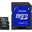 Toshiba - 8 GB microSD High Capacity (microSDHC) - Multi