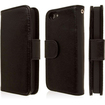 Empire - KLIX Genuine Leather Wallet Case for Apple iPhone 5 / 5S - Genuine Leather - Black