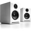Audioengine - A2+ 2.0 Powered Multimedia Desktop Speakers (2-Piece) - High-Gloss White