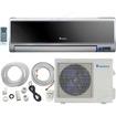 Klimaire - 9,000 BTU 19 SEER DC Inverter Ductless Mini Split Heat Pump AC - 220V-16Ft Installation Kit