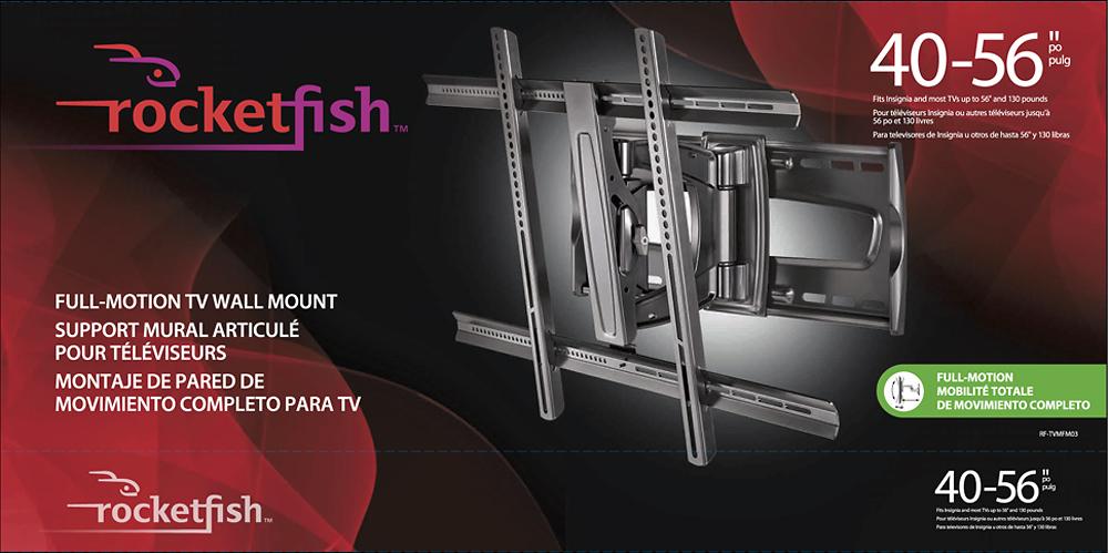 Rocketfish Tv Mount 19 39 Instructions