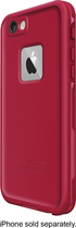 LifeProof - FRE Hard Case for Apple® iPhone® 6 - Red