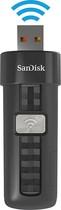 SanDisk - Connect 16GB USB 2.0 Wireless Flash Drive - Black