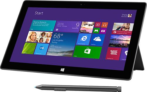 Microsoft - Surface Pro 2 - 512GB - Dark Titanium
