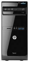 HP - Pro 3500 Desktop - Intel Pentium - 2GB Memory - 500GB Hard Drive - Black