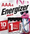 Energizer - MAX Batteries AAA (4-Pack)