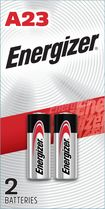Energizer - A23 Silver Oxide Batteries (2-Pack) - Silver
