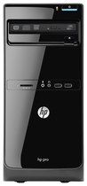 HP - Pro 3500 Desktop - Intel Core i3 - 2GB Memory - 500GB Hard Drive - Black