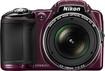 Nikon - Coolpix L830 16.0-Megapixel Digital Camera - Plum