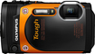 Olympus - TG-860 16.0-Megapixel Waterproof Digital Camera - Orange