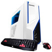 iBUYPOWER - Desktop - AMD FX-Series - 8GB Memory - 1TB Hard Drive + 120GB Solid State Drive - White/Blue