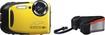 Fujifilm - XP70 16.4-Megapixel Digital Camera - Yellow