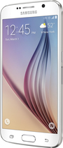 Samsung - Galaxy S6 with 64GB Memory Cell Phone - White Pearl (Sprint)