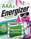 Energizer - NiMH Rechargeable Batteries AAA (4-pack)