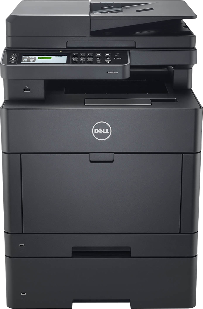 Dell Color Smart H625CDW Wireless Color AllInOne Printer Black