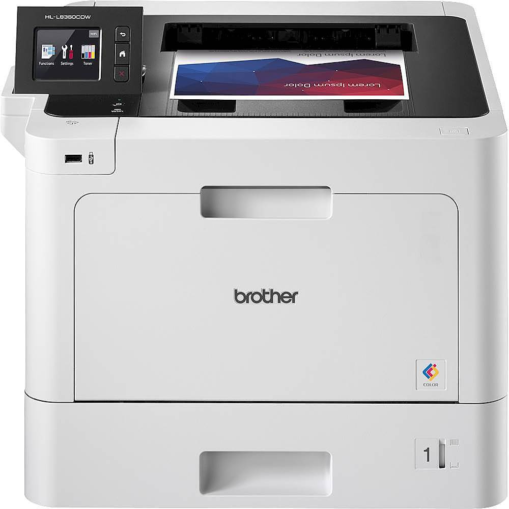 brother hl l8360cdw wireless color laser printer hl l8360cdw