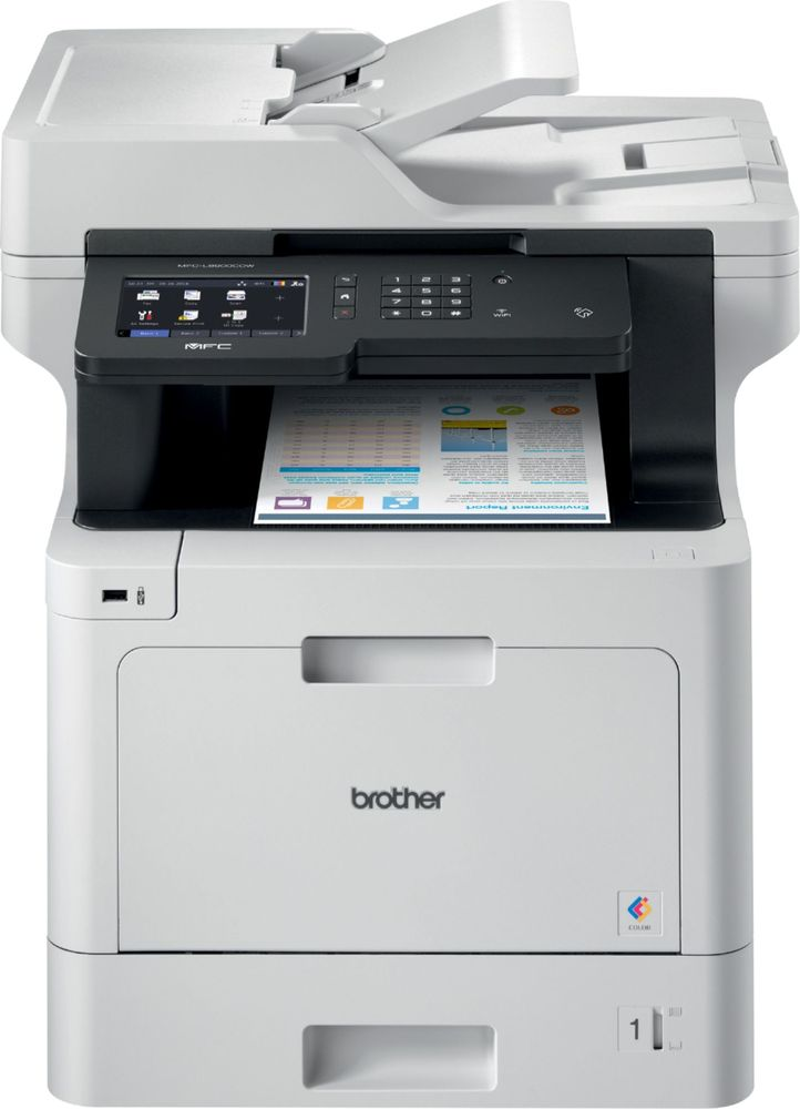 Brother MFCL8900CDW Wireless Color AllinOne Printer MFC