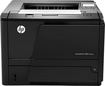 HP - LaserJet Pro M401dne Black-and-White Printer - Black