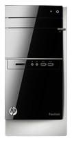 HP - Pavilion Desktop - AMD A8-Series - 4GB Memory - 1TB Hard Drive - Black