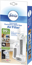 Febreze - Febreze HEPA-Type Air Purifier Filter - White